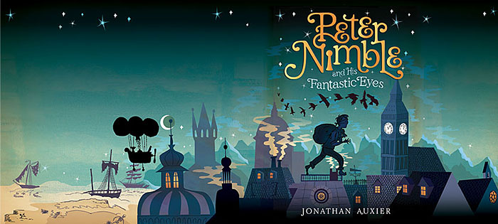 Children S Book Front And Back Cover : Peter nimble and his fantastic eyes book review