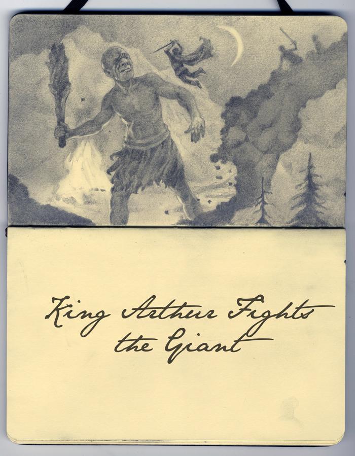 KingArthurfightsthegiant