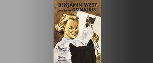 Books That Live in Us: Benjamin West and His Cat Grimalkin