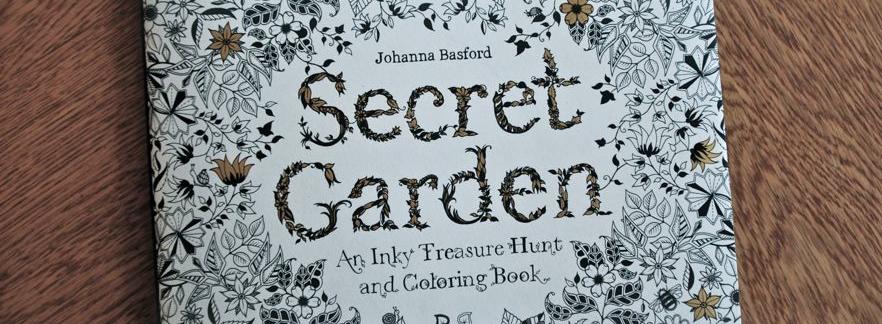 The Secret Garden… coloring book!