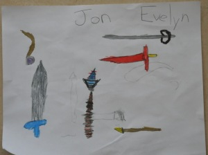 By: Jon and Evie Age: 5 and 7