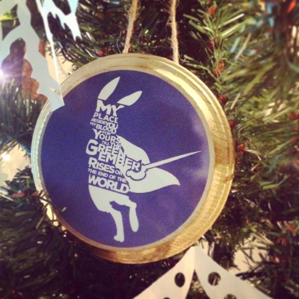 TGE ornament