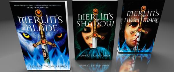 Interview With Robert Treskillard, YA Author of The Merlin Spiral
