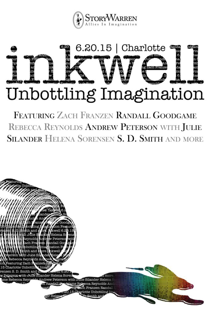 inkwell 2015 poster by Paul Boekell