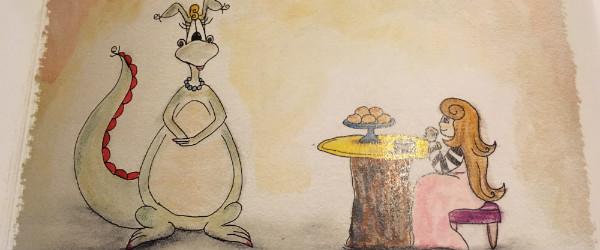 Sara Ernst and Dragons Really Do Love Tea
